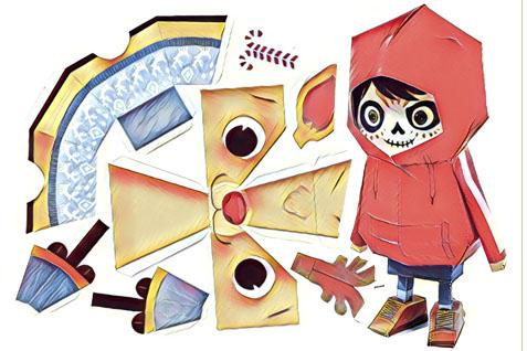 Joguines de paper Paper toys
