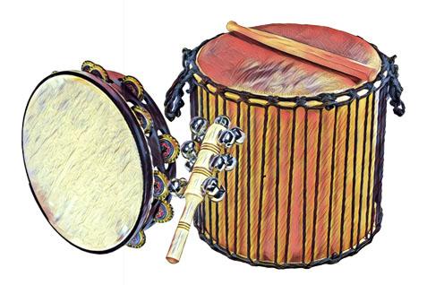 Percussió amb instruments reciclats